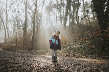 Girl during forest walk - DWF00542