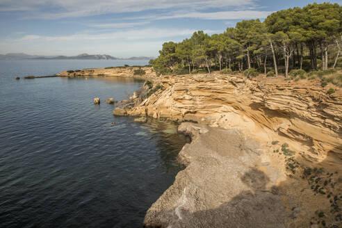 Spain, Mallorca, Mediterranean Sea coast - JMF00479