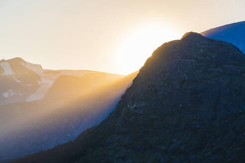 Sunset at mountains - JOHF06375