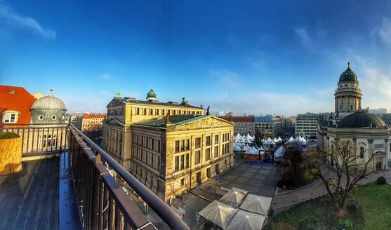 Germany, Berlin, Cityscape with Gendarmenmarkt - NGF00542