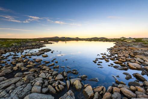 Lake at sunset - JOHF07932