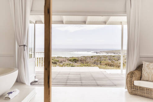 View from bedroom to Grotto Bay, South Africa - SDAHF00281