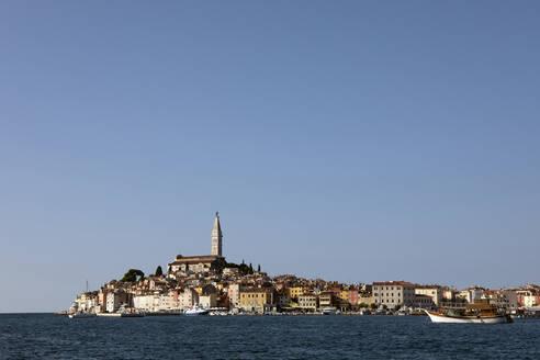 Croatia, Istria, Rovinj, View of the city - PSTF00612