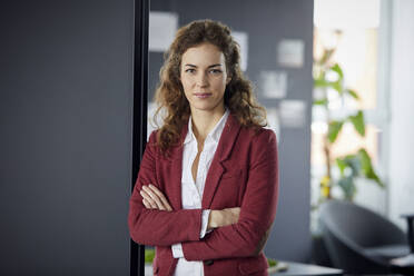 Portait of confident businesswoman in office - RBF07070