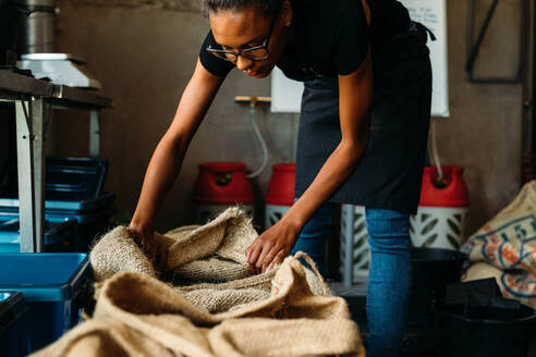 Woman Working At Workshop - EYF01415