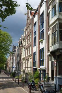 Grachtenhäuser, Prinsengracht, Amsterdam, Provinz Nordholland, Niederlande, - LBF03027