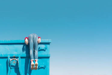 sevilla, Spain, container, urban, industrial, outdoor, minimal, youth, freedom, fun, color - ERRF03118