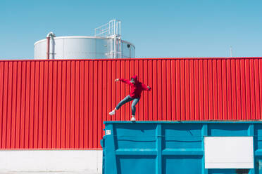 sevilla, Spain, container, urban, industrial, outdoor, minimal, youth, freedom, fun, color - ERRF03130