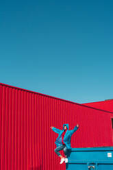 sevilla, Spain, container, urban, industrial, outdoor, minimal, youth, freedom, fun, color - ERRF03139