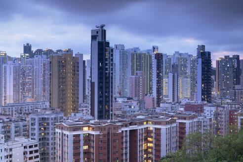 Apartment blocks, Shek Kip Mei, Kowloon, Hong Kong, China, Asia - RHPLF14563
