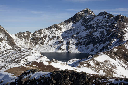Alpine lake in the Pyrenees Mountains, Andorra - CAVF80975