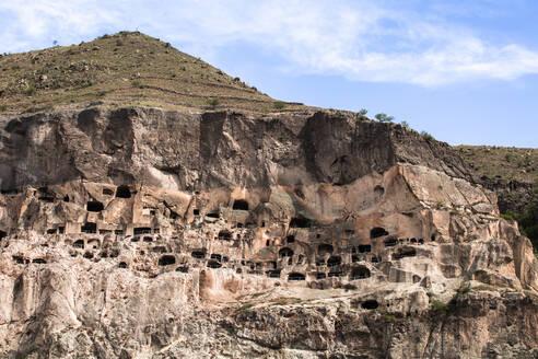 Georgia, Samtskhe-Javakheti, Vardzia cave monastery - WVF01654