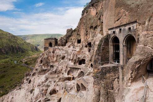 Georgia, Samtskhe-Javakheti, Vardzia cave monastery - WVF01657