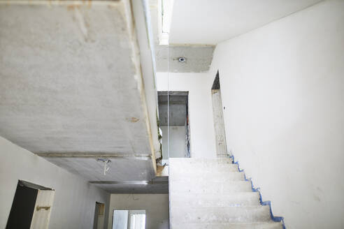 Stairs on construction site - MJFKF00220