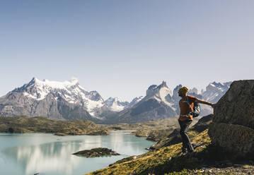 südamerika,patagonien,hiking,trekking,natur,chile,torres del paine nationalpark,lago pehoe - UUF20745