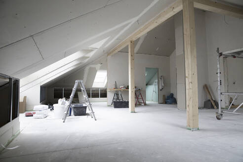 Interior of renovating house - MJFKF00376