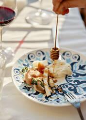 Serbia, Curug, Dinner, Honey, Outdoor - ZEDF03577