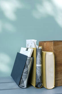 DIYdocument holders made of book covers - GISF00626