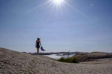Schärenlandschaft, Felsenküste, Schärenküste, Smögen, Schären, Provinz Bohuslän, Provinz Västra Götalands län, Südschweden, Schweden, - LBF03164