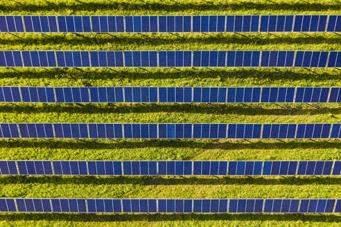 Aerial view ofsolar power station - WDF06134