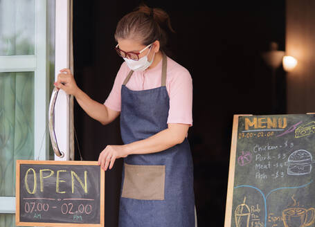 Small business back to open again during COVID-19 disease - CAVF88488