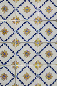 Tiles with floral pattern - NGF00649