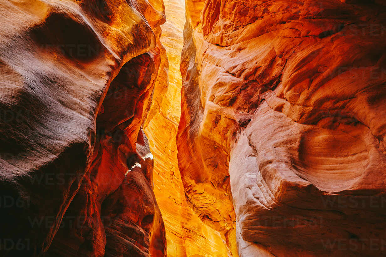 Landscape detail of slot canyons in Kanarra Falls, Utah. - CAVF88744 - Cavan Images/Westend61
