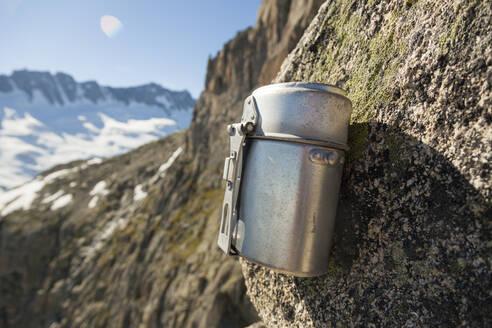 Summit register on Lochberg, Furka Pass, Uri, Switzerland - CAVF88999