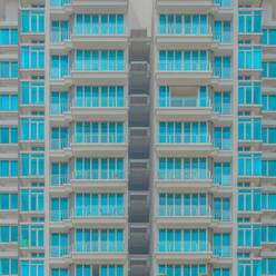 Full frame shot of modern building - LCUF00132