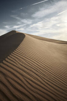 Natural pattern on Cadiz Dunes at Mojave Desert, Southern California, USA - BCDF00478