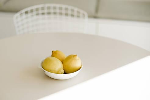 Lemon on table at home - KVF00143