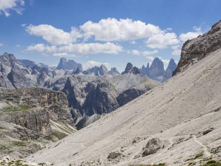 Scenic view of Sexten Dolomites - HUSF00164