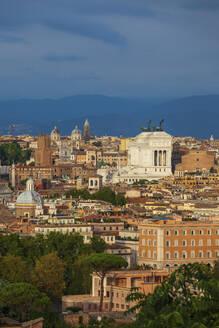 Italy, Rome, capital city cityscape - ABOF00649