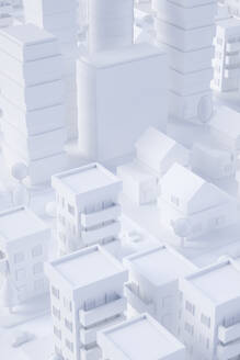 Paper White 3D City - JPSF00075