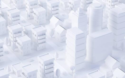 Paper White 3D City - JPSF00078