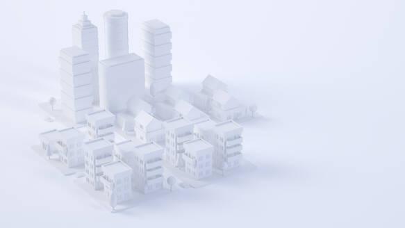 Paper White 3D City - JPSF00090